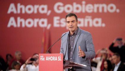 """Sánchez apremia al indeciso: """"Quien quiera moderación y progreso, la única opción que tiene es el PSOE"""""""