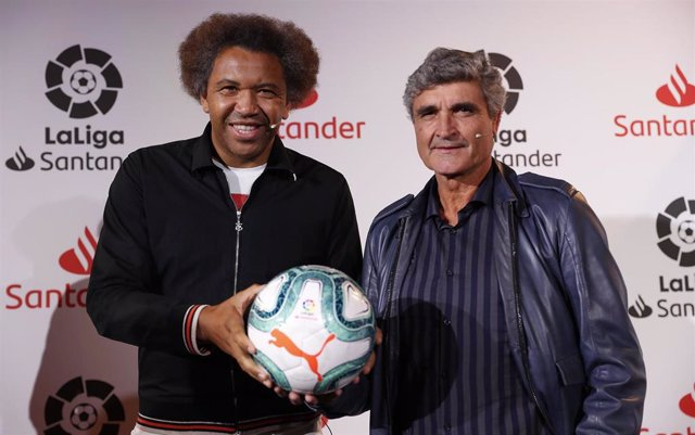 Benjamín Zarandona y Juande Ramos