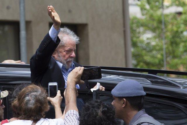 L'ex president brasiler Luiz Inácio Lula da Silva (Imatge d'arxiu)