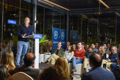 """Monago insta a """"no hacer experimentos"""" y votar al PP el 10N """"si no estás de acuerdo con Sánchez"""""""