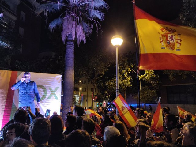 El cap de llista de Vox al Congrés per Barcelona, Ignacio Garriga
