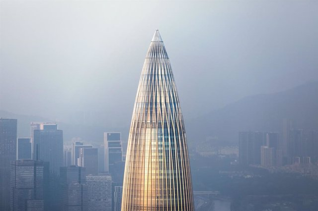 China Resources Headquarters, una de las fotos finalistas de 'The Architectural Photography Awards'