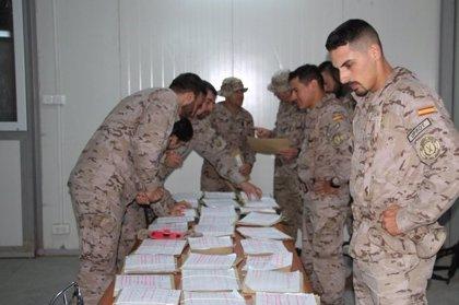 Numerosa participación en las elecciones de los militares en misiones en el exterior