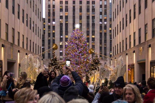 Arbol de Navidad en Rockefeller Center