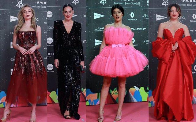 La alfombra roja de LOS40 Music Awards