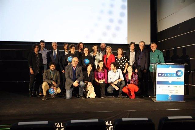 Premiados del Málaga 4K Fest.