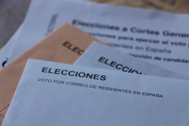 Vot per correu per a les eleccions generals