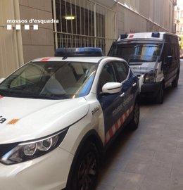 Patrulla dels Mossos d'Esquadra a Barcelona