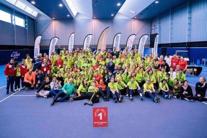 La Fundación Rafa Nadal reúne en Mallorca a un centenar de tenistas Special Olympics