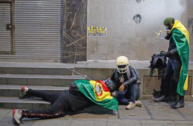 Bolivia.- La Defensoría de Bolivia pide a los grupos movilizados que depongan la