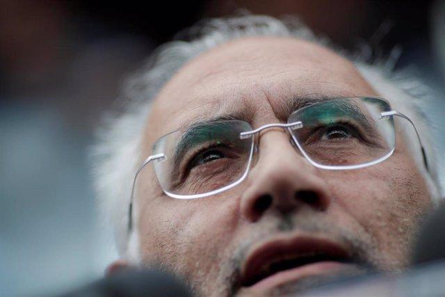 El líder opositor boliviano, Carlos Mesa
