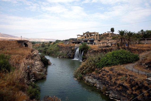 Naharayim, tierras entre Israel y Jordania