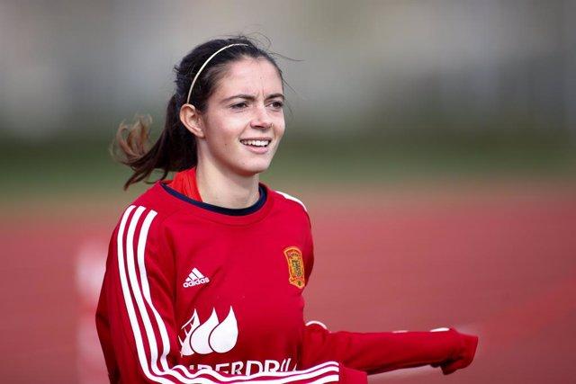 """Fútbol/Selección.- Aitana Bonmatí: """"Siempre quiero llegar más alto de donde esto"""