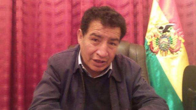 El diputado del MAS Víctor Borda