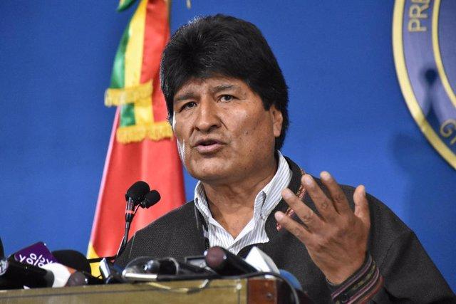 El president de Bolívia, Evo Morales