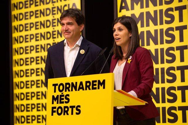 Sergi Sabrià i Marta Vilalta (ERC)