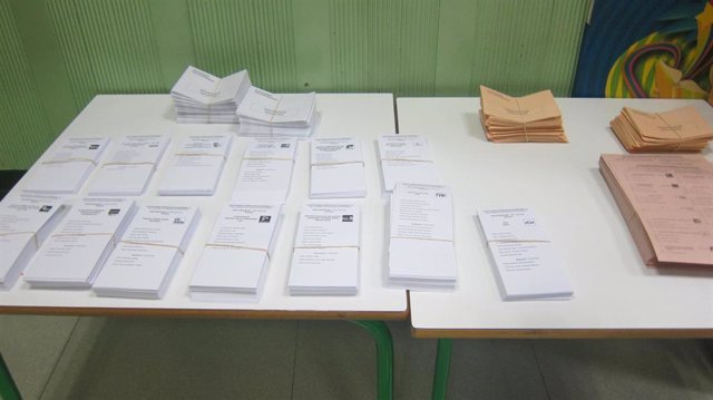 Papeletas electorales