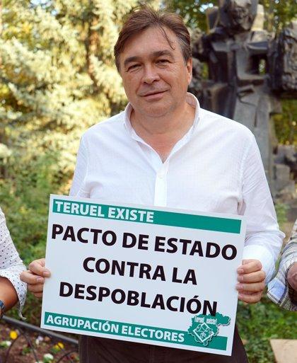 """Guitarte, """"muy contento"""" por el resultado de Teruel Existe, garantiza que apoyará """"la gobernabilidad"""""""