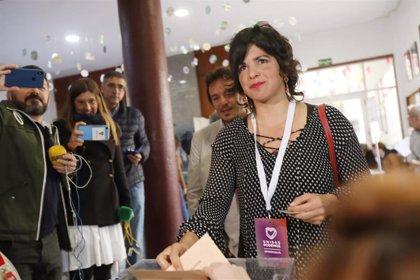 """Teresa Rodríguez: """"Malditos quienes decidieron darle gratuitamente una segunda oportunidad a la extrema derecha"""""""