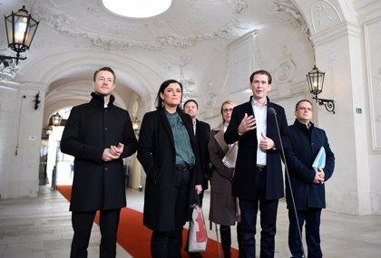 Austria.- El centro-derecha austriaco y Los Verdes confirman negociaciones para un gobierno de coalición