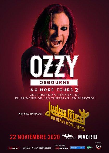 Ozzy Osbourne se despedirá de España el 22 de noviembre de 2020 en el WiZink Center de Madrid