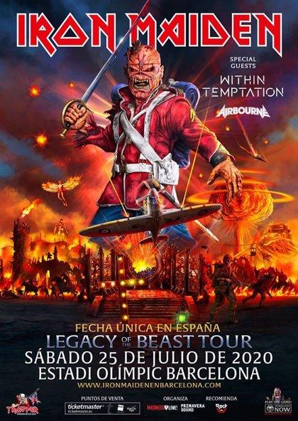 Iron Maiden en Barcelona: Información y precios de las entradas