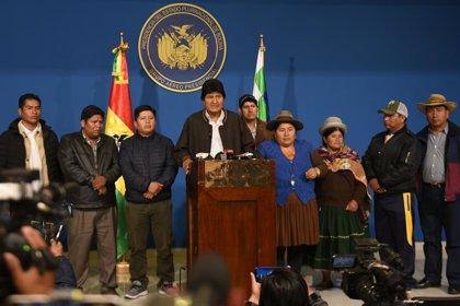 Bolivia.- La Asamblea Legislativa de Bolivia, llamada a resolver la acefalia tras la renuncia de Morales