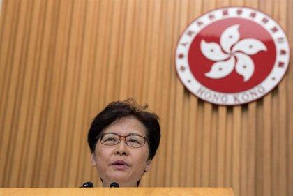 """China.- La jefa de Gobierno de Hong Kong advierte de que """"la violencia no solucionará los problemas"""""""