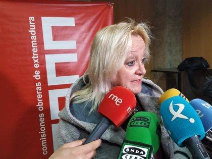 """Encarna Chacón (CCOO) pide """"responsabilidad"""" al PSOE para formar un gobierno de """"progreso"""" que frene a la ultraderecha"""