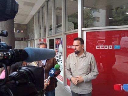 """Zapico (CCOO): """"Queremos ver la botella medio llena, hay una nueva oportunidad de la izquierda para entenderse"""""""