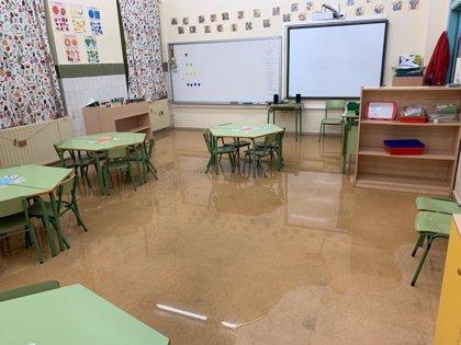 Podemos lleva a la Junta del Principado las inundaciones en el colegio de Jove