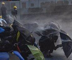 Ferit de bala un manifestant a Hong Kong (Xina) en una altra jornada de protestes (Adryel Talamantes/ZUMA Wire/dpa - Archivo)