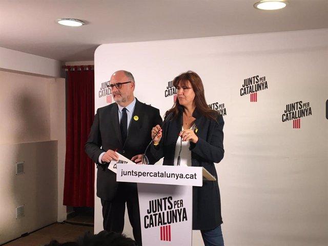 Eduard Pujol i Laura Borràs