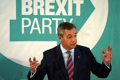 R.Unido.- Farage anuncia que su partido no se enfrentará a los conservadores en los escaños logrados en 2017
