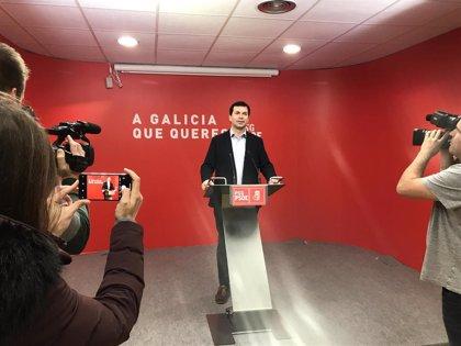 """Gonzalo Caballero destaca que los resultados cumplen los """"objetivos"""" del PSdeG frente a un Feijóo y PP que """"pincharon"""""""