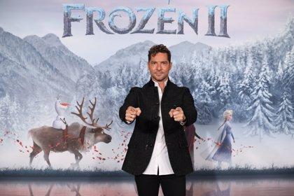 """David Bisbal pone voz al tema final de 'Frozen 2': """"Escucharme en los créditos me dio mucho subidón"""""""