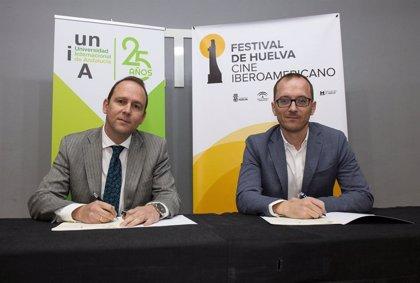 La UNIA sella su compromiso con el Festival de Cine de Huelva