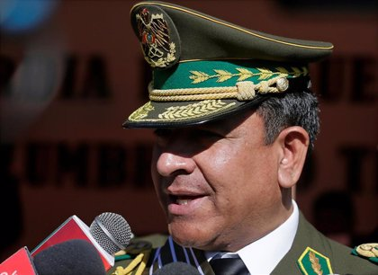 """Bolivia.- El jefe de la Policía de Bolivia también dimite tras """"sugerir"""" a Morales que renunciase"""