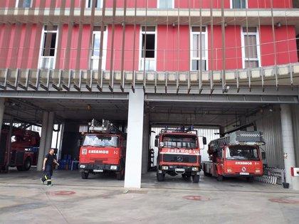 Extinguido un incendio en la calle Sant Miquel de Palma