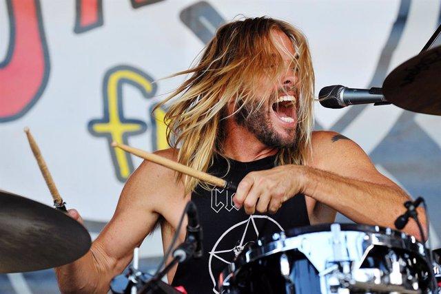 Taylor Hawkins, el batería de los Foo Fighters