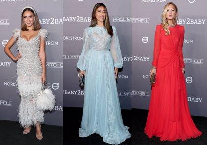 Jessica Alba, Katy Perry o Chrissy Teigen: mira las mejores vestidas de la gala benéfica Baby2Baby