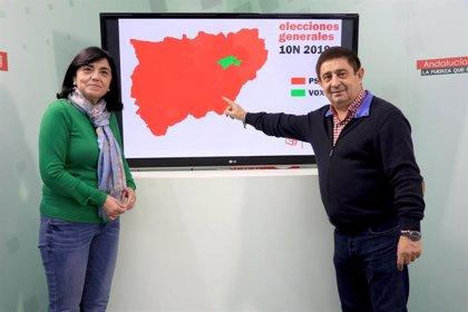 """Reyes destaca que el PSOE ha logrado en la provincia de Jaén el """"mayor respaldo porcentual"""" en el 10N con el 38,8%"""
