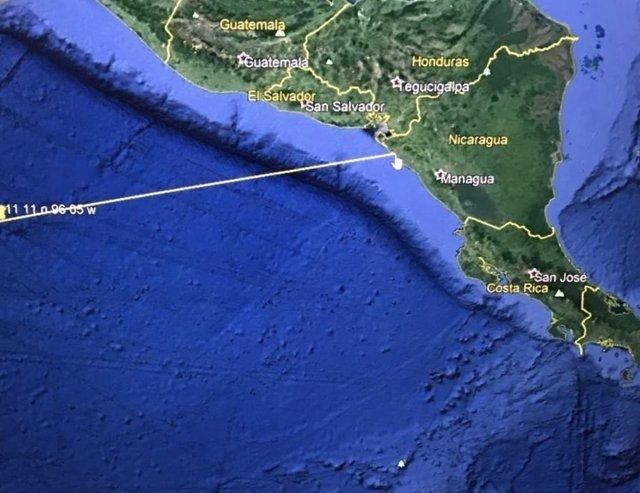 Posible tsunami en Nicaragua y El Salvador