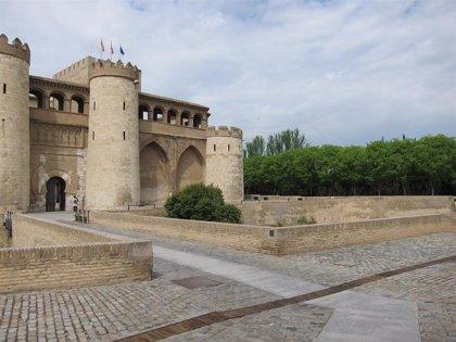 El Palacio de La Aljafería, uno de los escenarios de la serie 'El Cid', de Amazon Prime