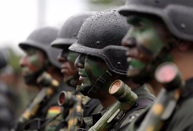 Militares bolivianos