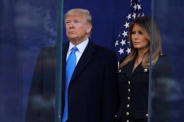 El presidente de Estados Unidos, Donald Trump, y la Primera Dama