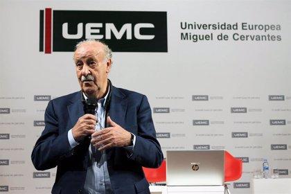 Fútbol.- Vicente del Bosque, reconocido como socio protector de la infancia en Valladolid
