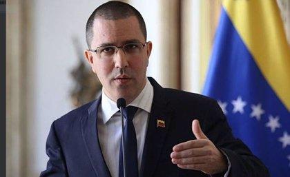 Venezuela.- Arreaza denuncia el bloqueo impuesto por Twitter contra la cuenta del Ministerio de Exteriores de Venezuela