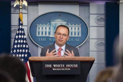 Mulvaney presentará su propia demanda para evitar declarar ante el Congreso en el marco del proceso de 'impeachment'