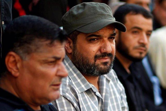 El jefe de YIhad Islámica en el norte de la Franja de Gaza, Baha Abu al Ata